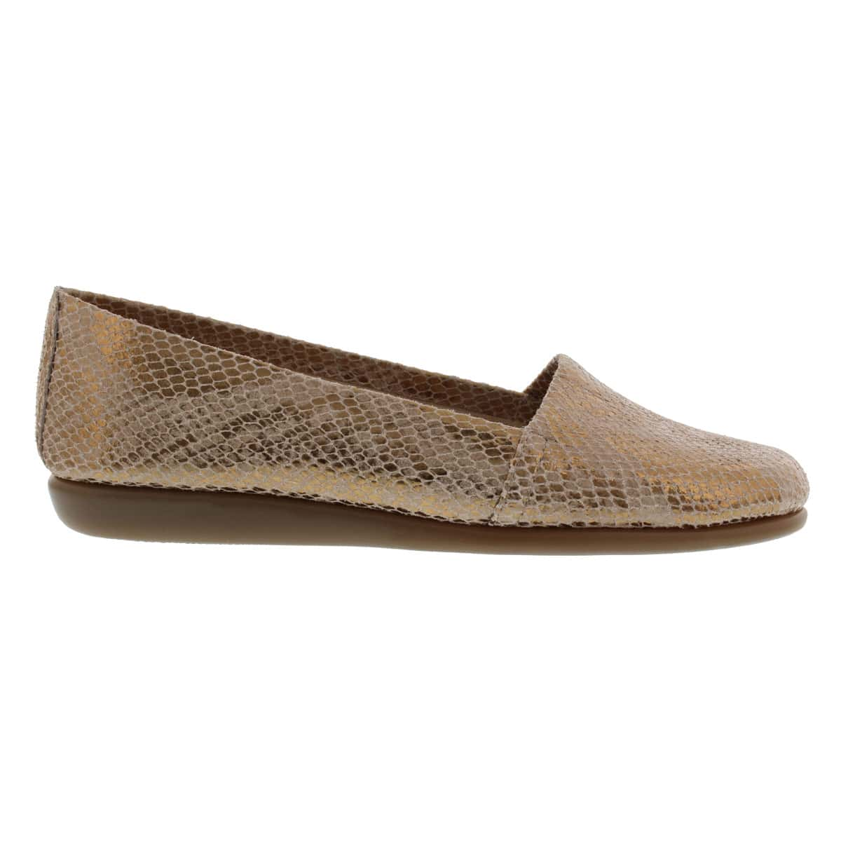 Lds Mr. Softee brz slip on casual shoe