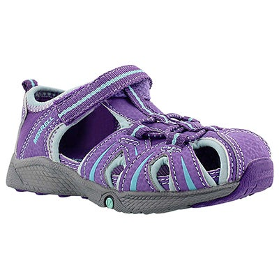 Merrell Infants' HYDRO JUNIOR purple fisherman sandals