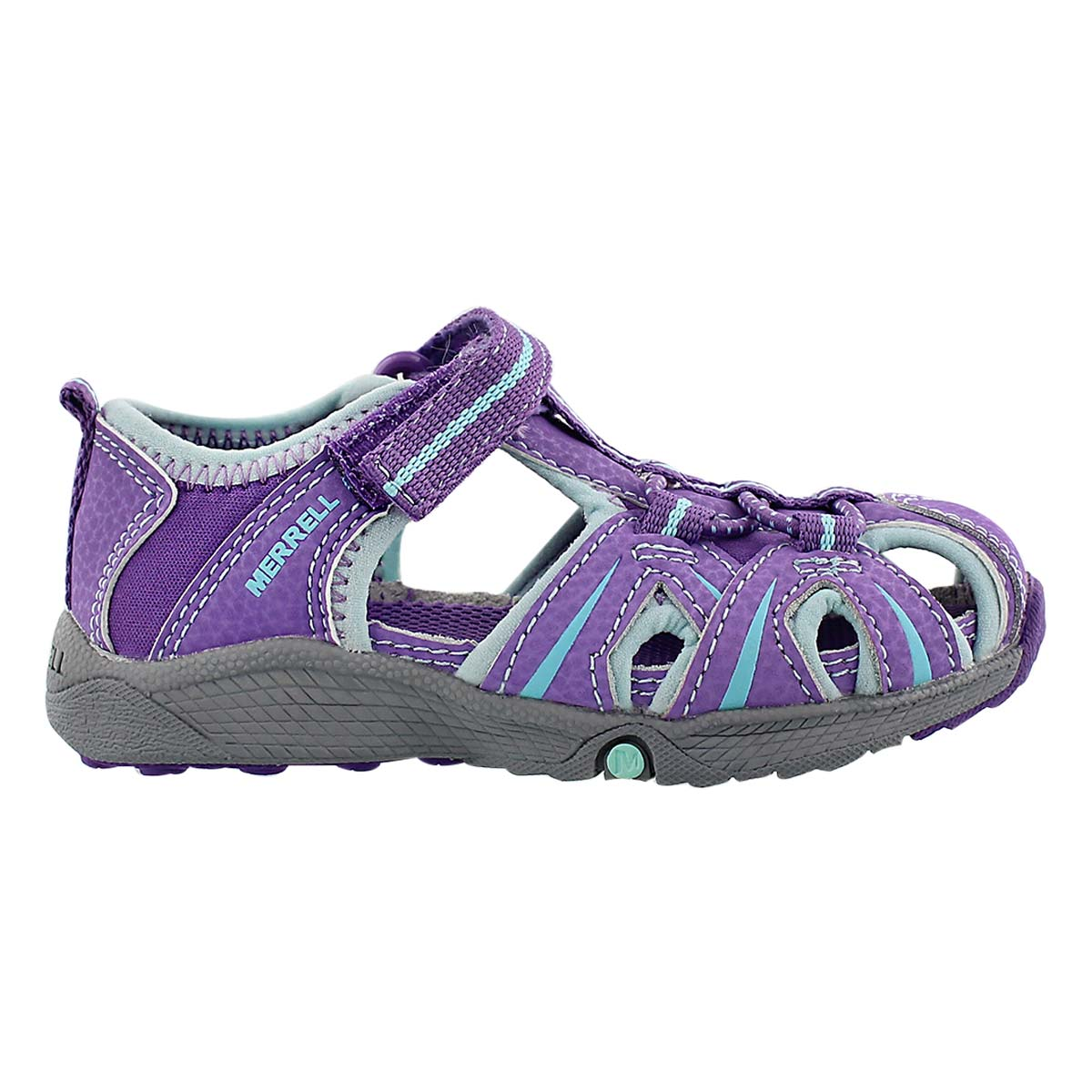 Inf Hydro Junior purple fisherman sandal