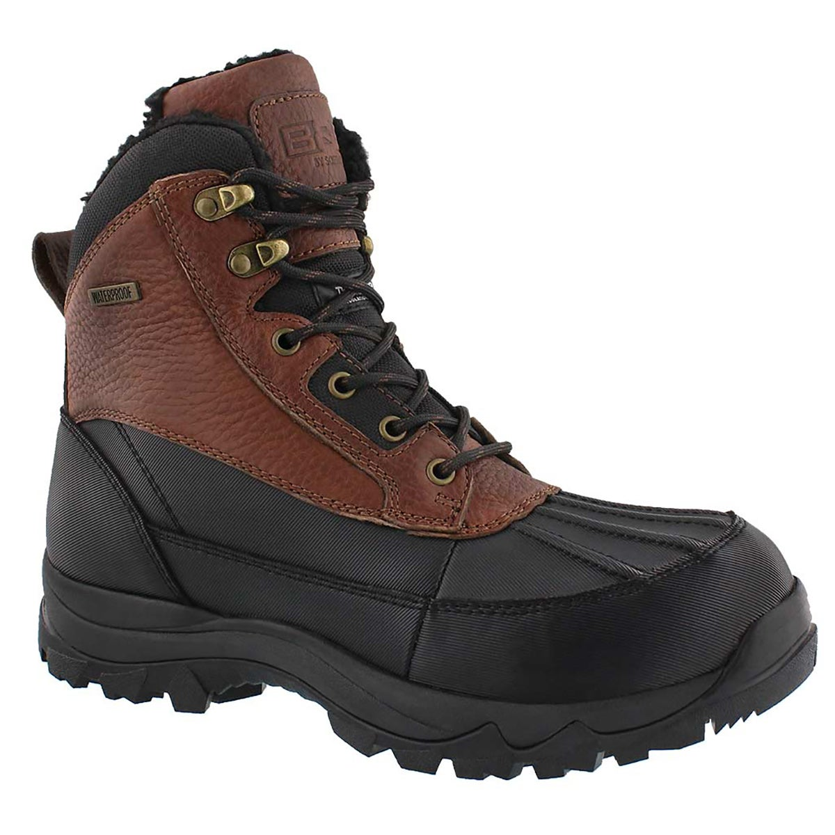 Men's MURHY brown waterproof winter boots