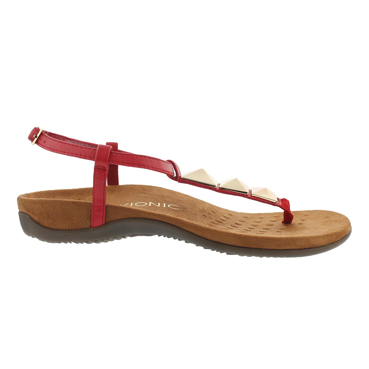 Lds Nala red arch support thong sndl