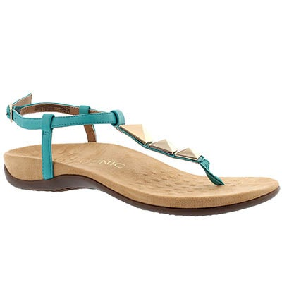 Lds Nala teal arch support thong sndl