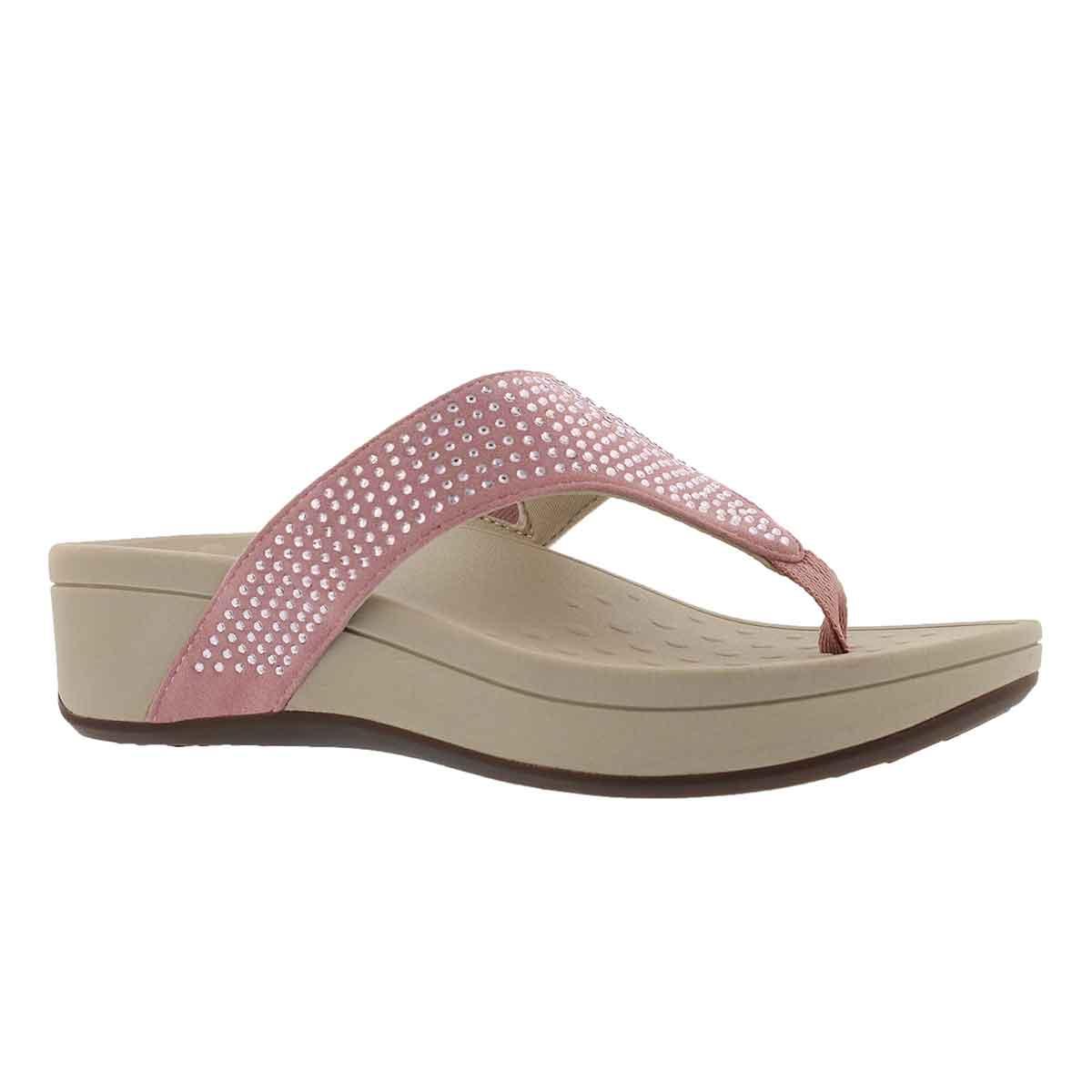 Women's NAPLES blush arch support wedge sandals