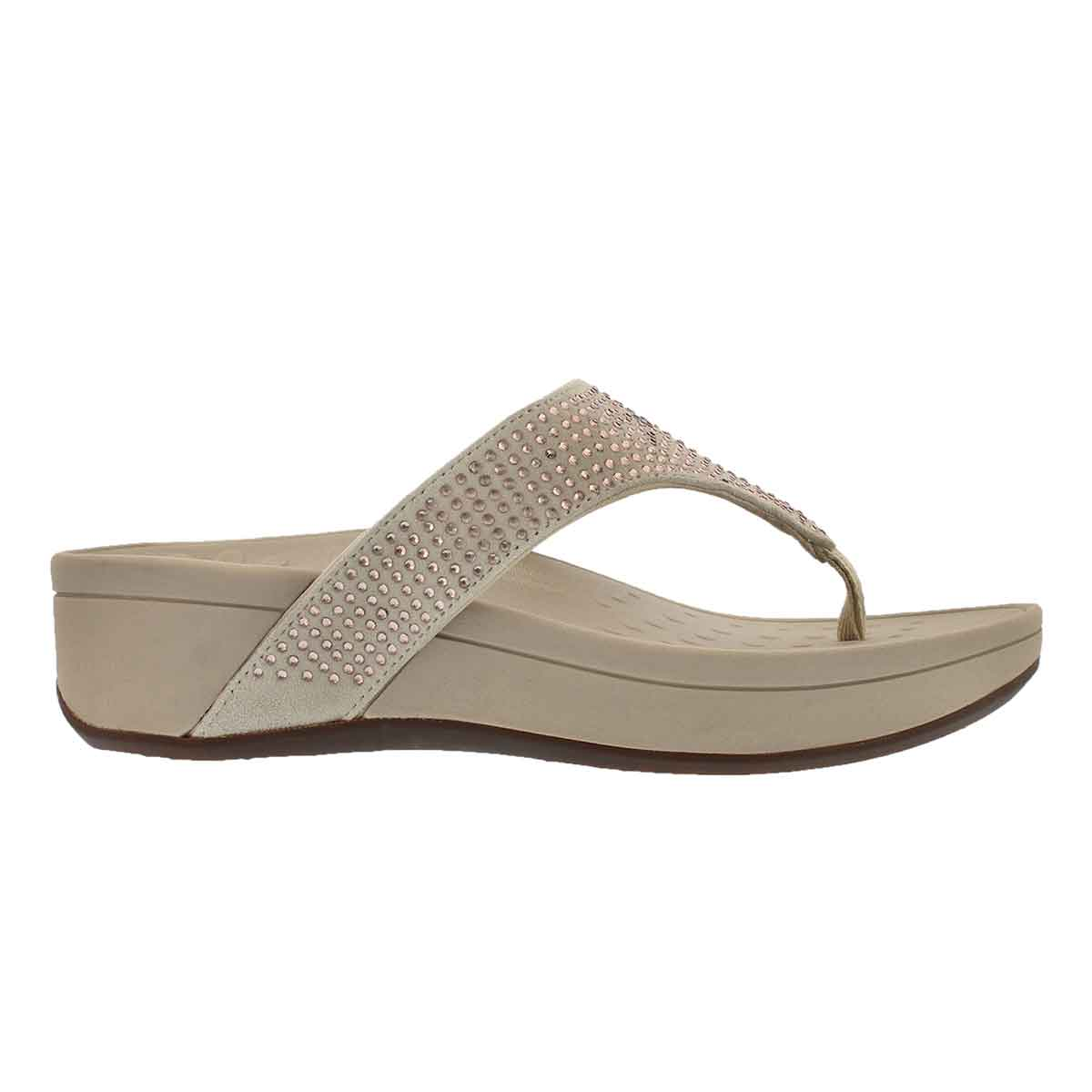 Lds Naples chmpgne arch support wdg sndl
