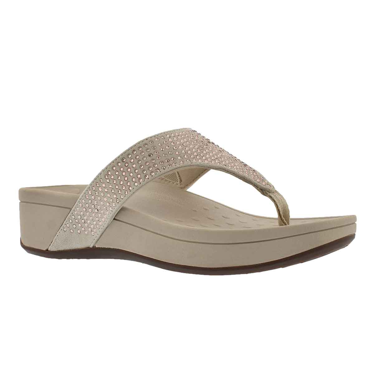 Women's NAPLES chmpange arch support wedge sandals