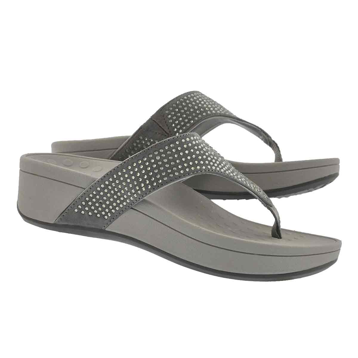 Lds Naples pewter arch support wdg sndl