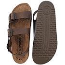 Mns Nardo brown cork footbed sandal