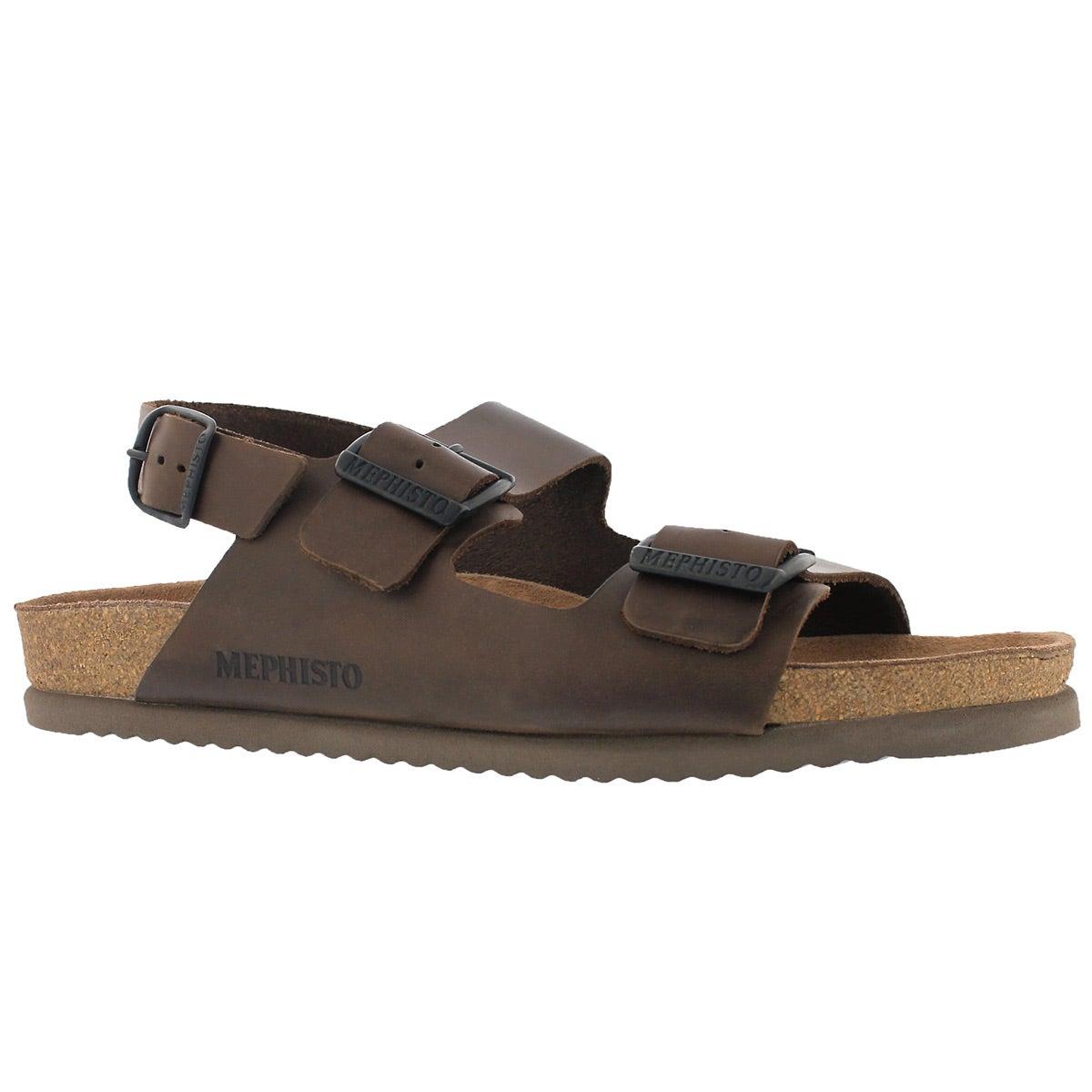 Men's NARDO brown cork footbed sandals