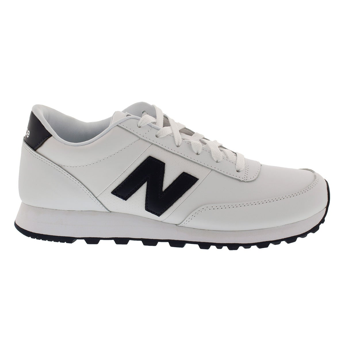 Mns 501 white/navy lace up sneaker