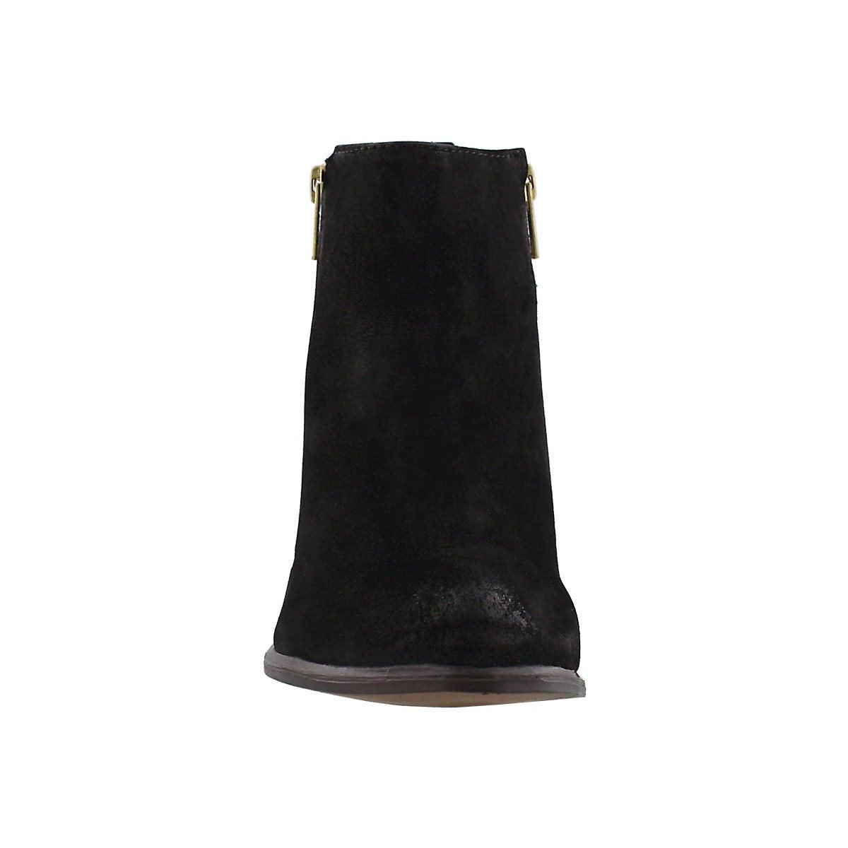 Lds Neovista blk nbck zip up ankle boot