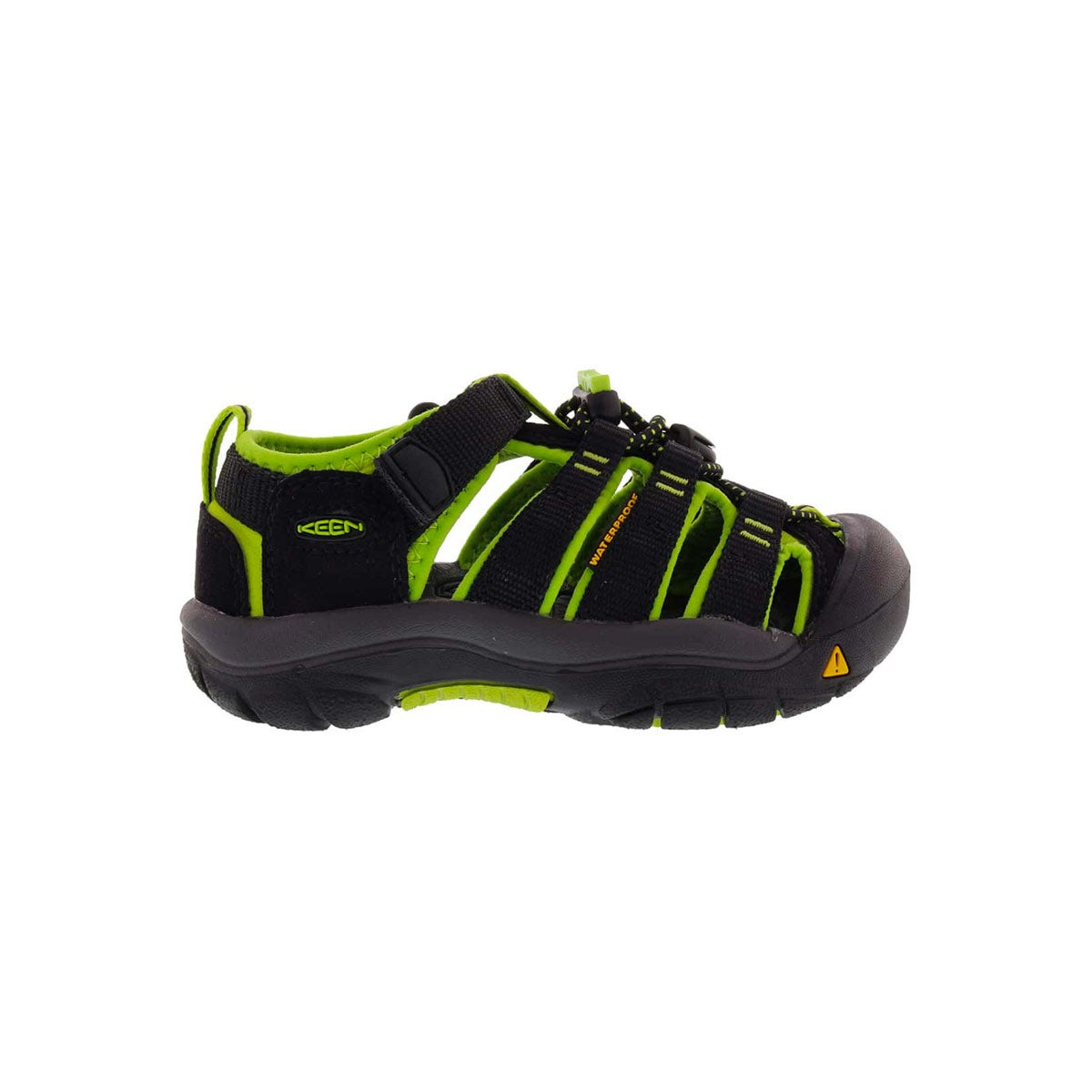 Sandales NewportH2Electric noir/lime, bé