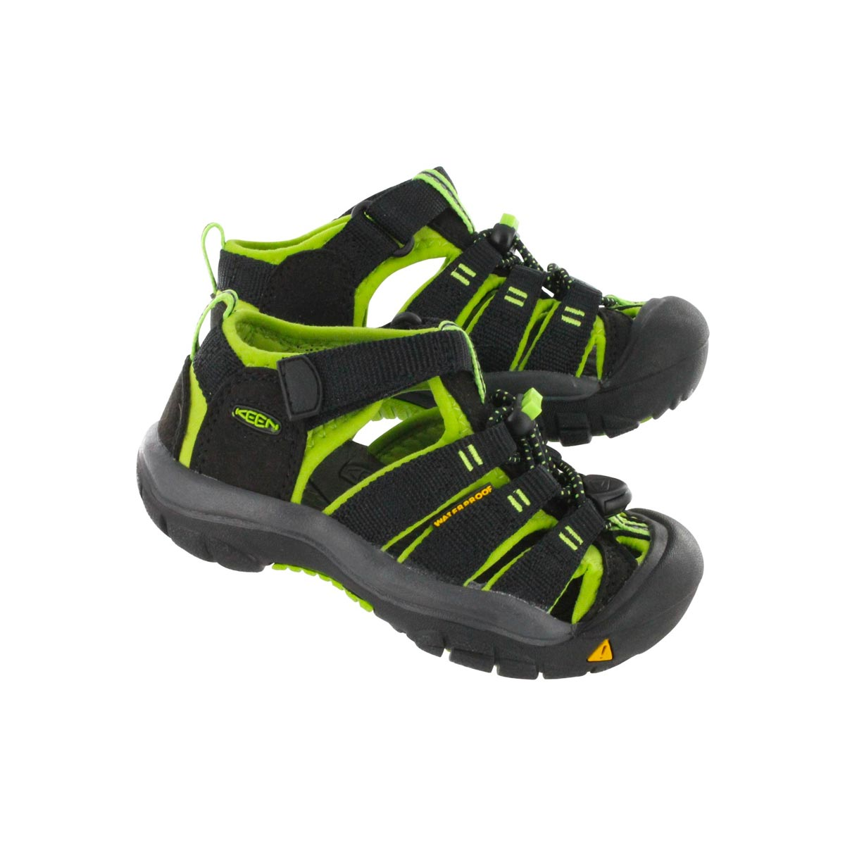 Inft Newport H2 Electric blk/lime sandal