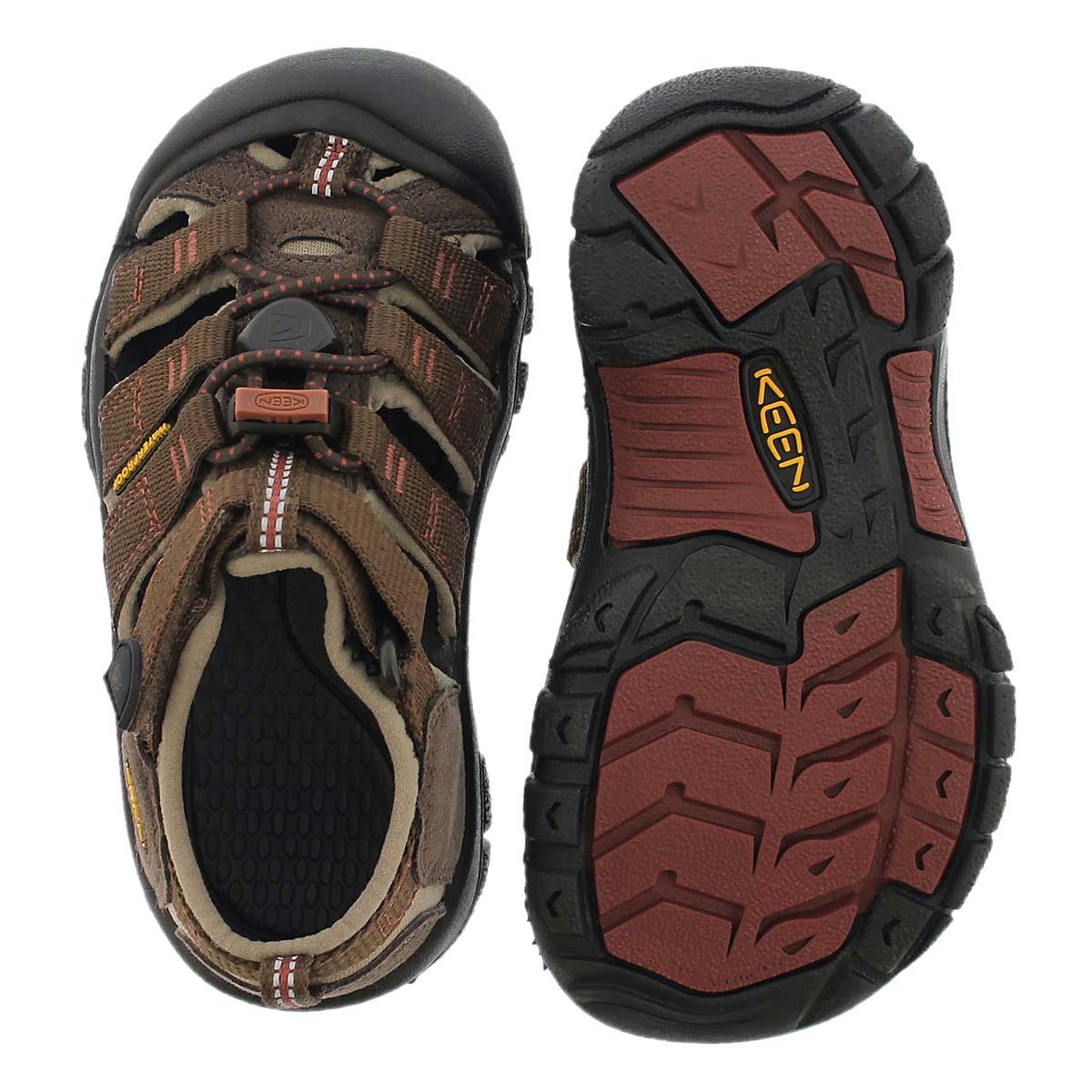 Inf Newport H2 Classi henna/black sandal