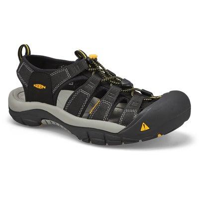 Mns Newport H2 black sport sandal