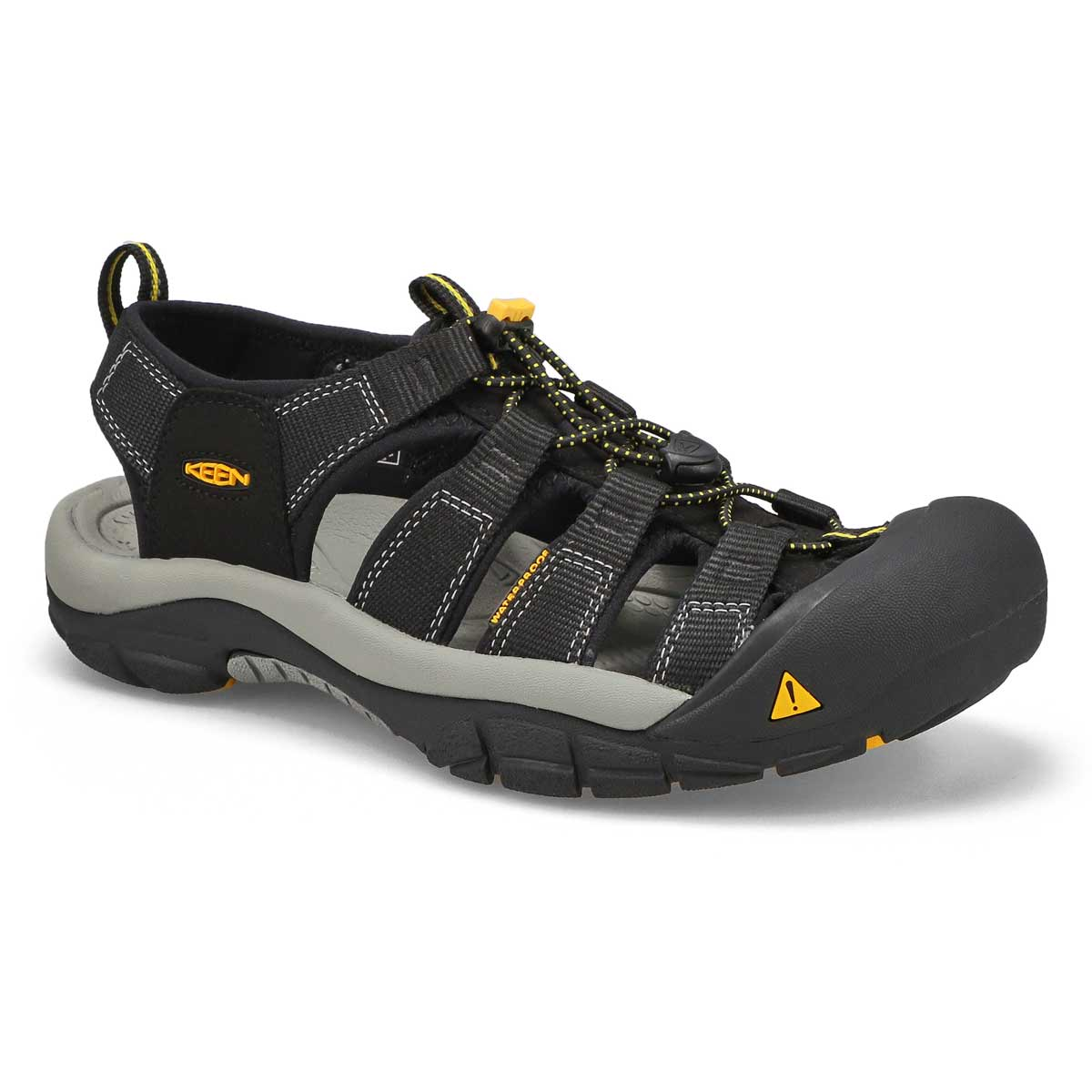 Men's NEWPORT H2 black sport sandals