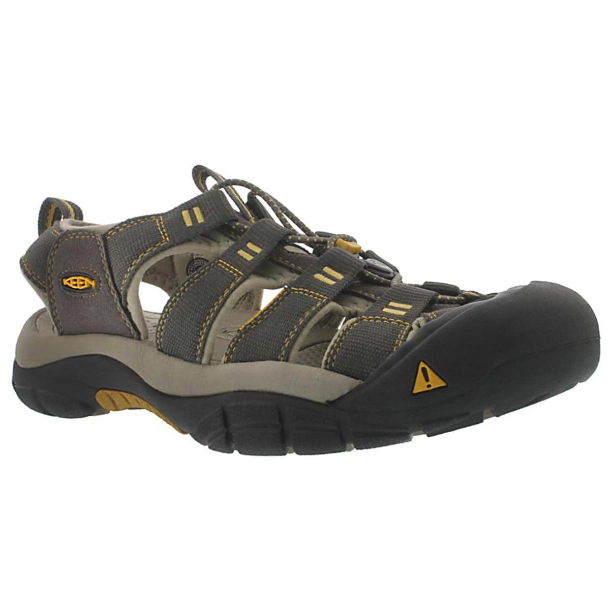 Mns Newport H2 raven/alum sport sandal
