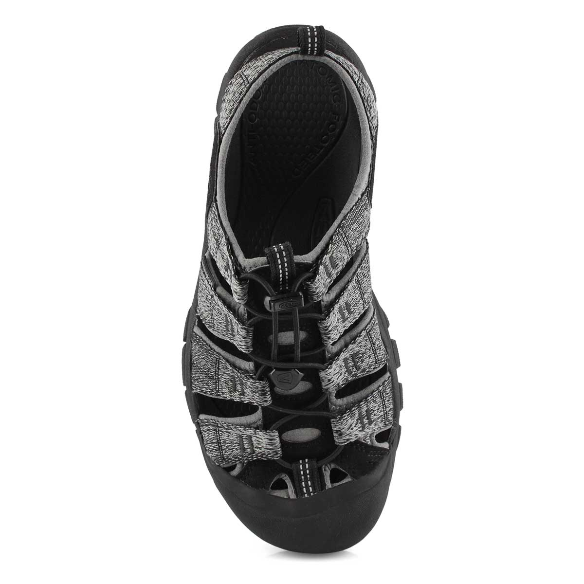 Mens Newport H2 blk/steel sport sandal