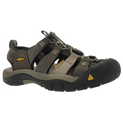 Keen Men's NEWPORT H2 black/olive sport sandals