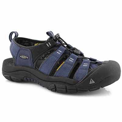 Mens Newport H2 dress blu sport sandal