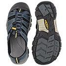 Mens Newport H2 navy sport sandal
