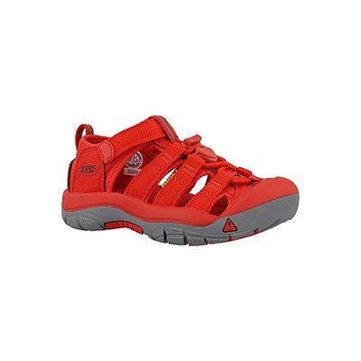 Infs Newport H2 firey red sandal