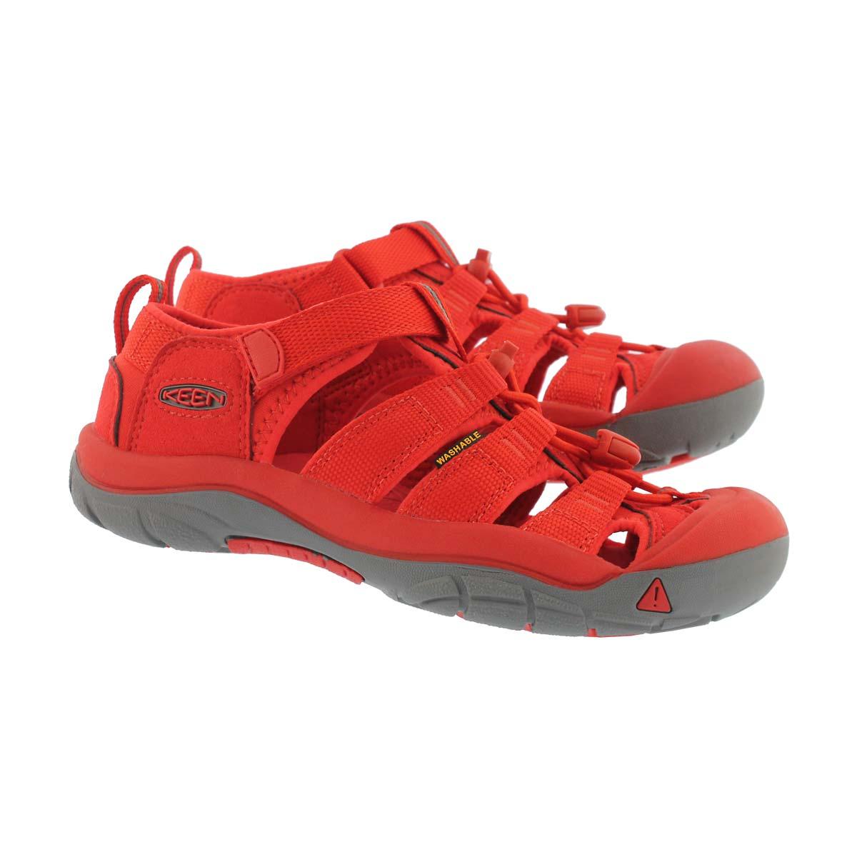 Kds Newport H2 firey red sandal