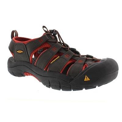 Keen Men's NEWPORT H2 raven sport sandals