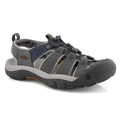 Mens Newport H2 steel gry sport sandal
