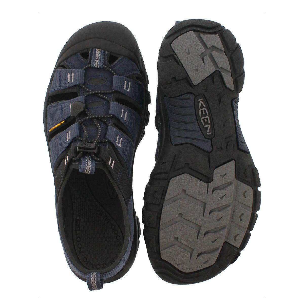 Mens Newport Hydro blu/gry sport sandal