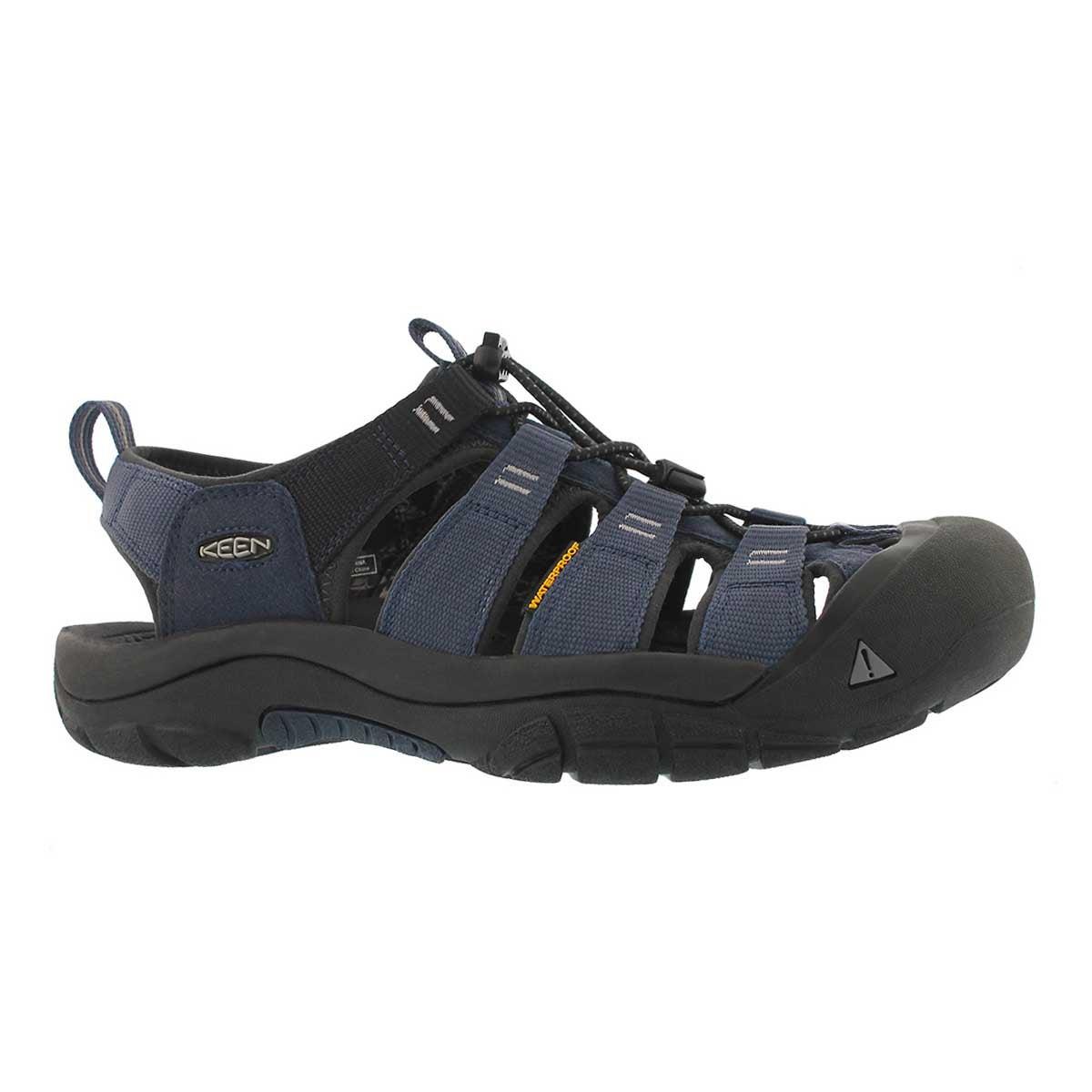 Men's NEWPORT HYDRO blue/grey sport sandals