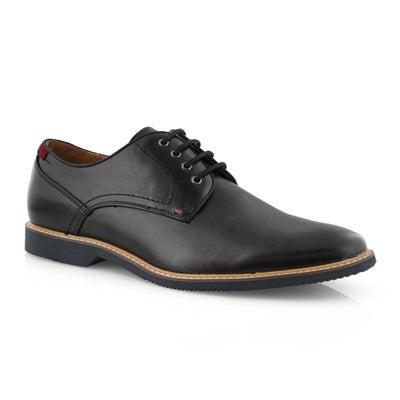Mns Newstead blk laceup dress derby shoe
