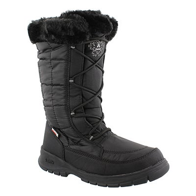 Kamik Women's NEW YORK 2 blk wtrpf winter boots - Wide