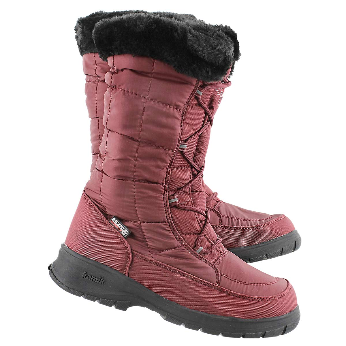 Lds New York 2 red wtpf wntr boot wide