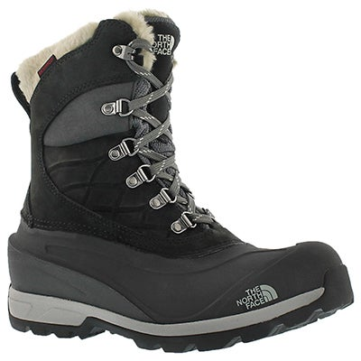 The North Face Women's CHILKAT 400 black waterproof winter boots