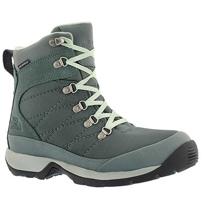 The North Face Women's CHILKAT NYLON green waterproof boots