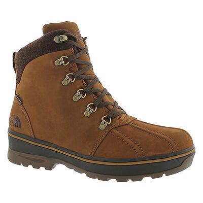 The North Face Men's BALLARD DUCK brown waterproof winter boots