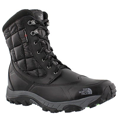 The North Face Men's THERMOBALL UTILITY black/green winter boots