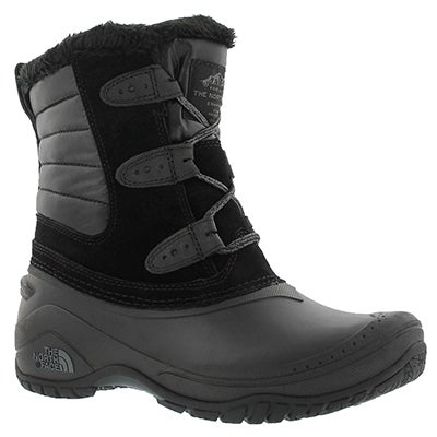 Lds Shellista II Shorty blk wntr boot