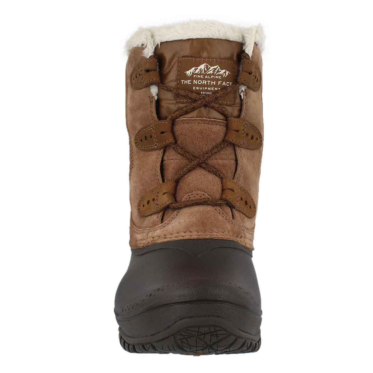 Lds Shellista II Shorty brown wntr boot