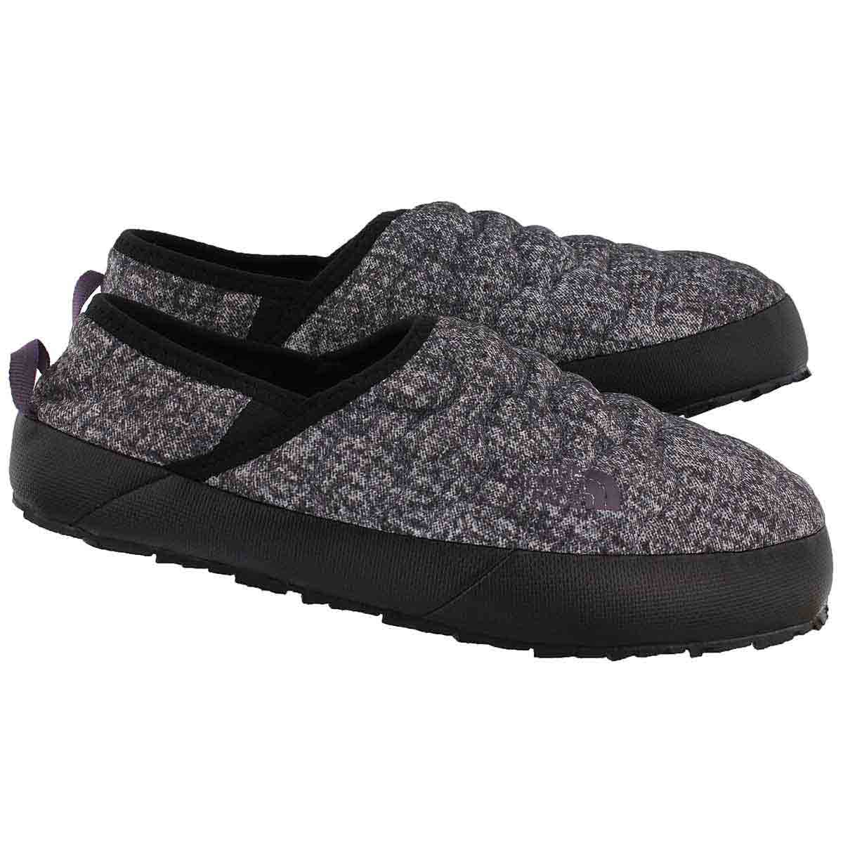 Lds ThermoBallTractionMule IV bk slipper