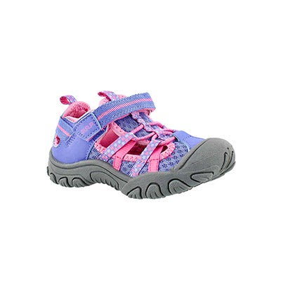 MAP Infants' NIAGARA perriwinkle fisherman sandals