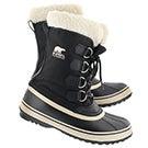 Lds Winter Carnival blk winter boot