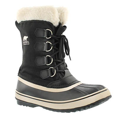 Lds Winter Carnival blk winter boot