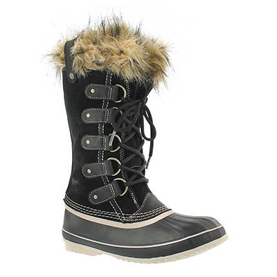 Sorel Women's JOAN OF ARCTIC black winter boots