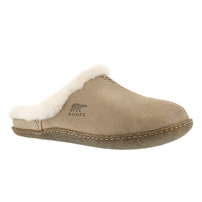 Sorel Women's NAKISKA SLIDE incense suede slippers