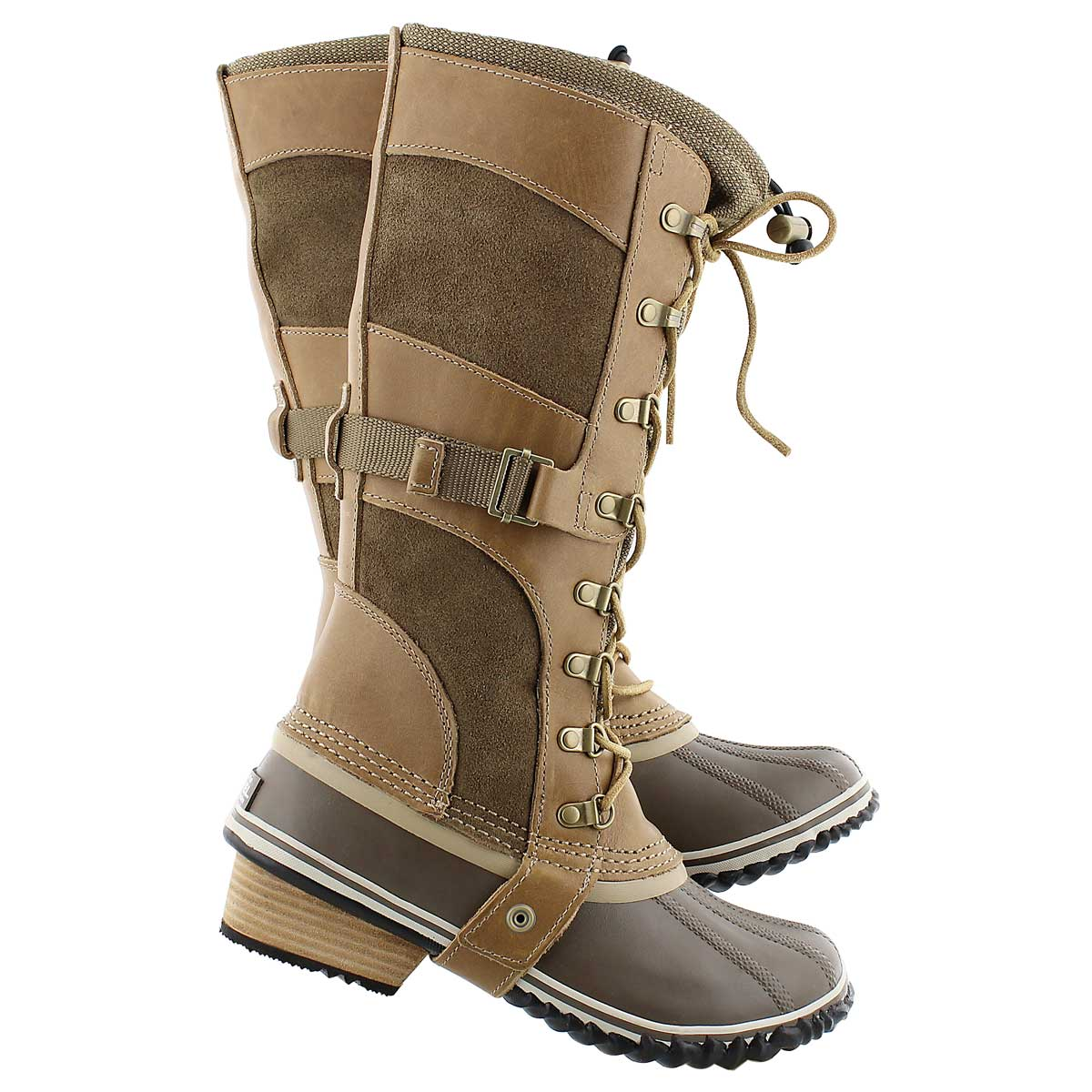 Lds Conquest Carly brit tan winter boot
