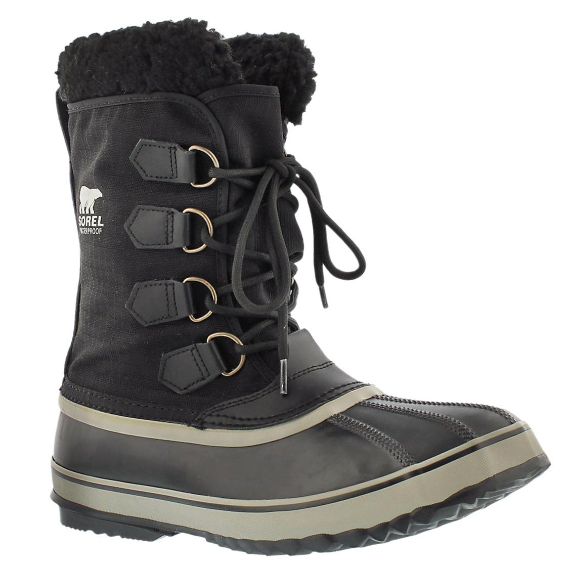 f8a8cfbcbe4 Men's 1964 PAC NYLON black winter boots