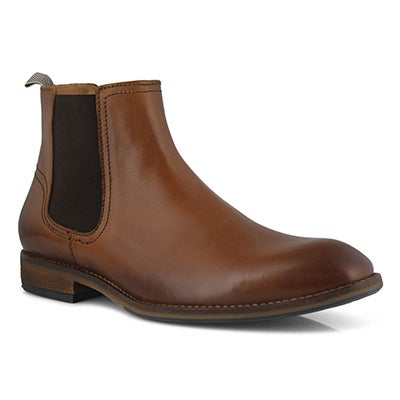 Mns Nobasis cognac chelsea boot