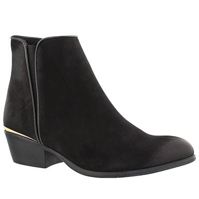 Lds Noble black ankle bootie