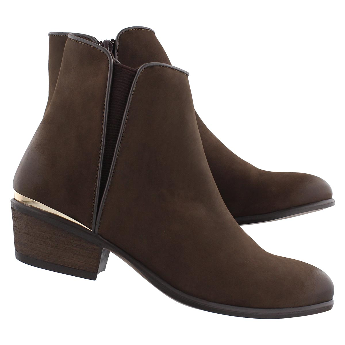 Lds Noble brown ankle bootie